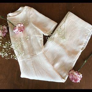 New H&M Elegant White Dress